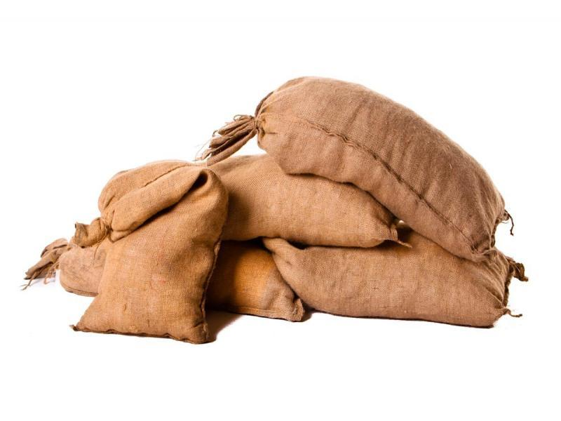 Sandbags Hessian Empty